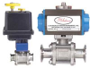 Series BV3 Sanitary Automated Ball Valve -- BV3DA102TC - Image