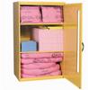 PIG HazMat Spill Kit in Large Wall-Mount Cabinet -- KIT328