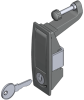 Recess T-Handle Paddle Latch -- 1130 - Image