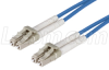62.5/125, Multimode Fiber Cable, Dual LC / Dual LC, Blue 2m -- FODLC-BL-02