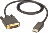10-ft. DisplayPort to DVI Cable, Male/Male -- EVNDPDVI-0010-MM -- View Larger Image