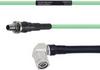 Temperature Conditioned Low Loss SMA Female Bulkhead to RA TNC Male Cable LL142 Coax in 24 Inch -- FMHR0148-24 -Image