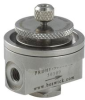 Miniature High Flow Diaphragm Pressure Regulator -- PRDHF