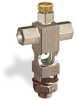 "(Formerly B1629-13X00), Cross Small Sight Feed Valve, 1/8"" Female NPT Inlet, 5/16""-24 Female Outlet, 1/2""-20 Remote Mounting, Handwheel -- B1628-216B1HW -Image"