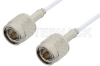 75 Ohm TNC Male to 75 Ohm TNC Male Cable 36 Inch Length Using 75 Ohm RG187 Coax, RoHS -- PE35364LF-36 -Image