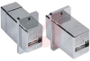 Adapter; USB Type A - Type A A; USB; EMI/RFI -- 70126195 - Image