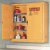 Wall Mounted 24 Gallon Capacity Safety Storage Cabinets -- 4448