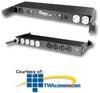 Chatsworth Products Flush Mount Power Strip - 30 Amp -- 12812-701