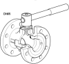 Reduced Bore Ball Valve DN15 to DN150 Flanged PN40
