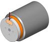 Non-Comm DC Voice Coil Linear Actuator -- NCC12-60-1000-2PB