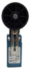 MICRO SWITCH GLL Series Global Limit Switches, Side Rotary, Adjustable Length Lever with 50mm rubber roller, 1NC/1NO Direct Opening SPDT snap action, 20mm conduit -- GLLC01A2Y - Image