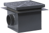 Side Outlet Area Drain with Hinged Grate -- FD-430 -- View Larger Image
