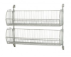 Wire Shelving - Cantilever Wall Mount Systems - Complete Packages - CAN-34-204812BC-PWB - Image