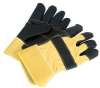 Black Hide Rigger Gloves-Image