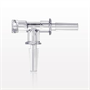 T Connector, Female Luer Lock, 2 Male Slips -- 88216 -Image