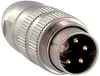 Connector, IP68 Watertight Locking; 4; 0.75; 5 A; 250 VAC; 10^13 Ohms; 2 pF -- 70151644