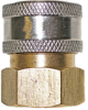 Quick Connect Brass Socket 1/4 in FPT -- VM-331016V - Image