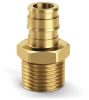 Expansion Male Threaded Adapters -- QEMC44GX -Image