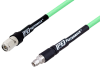 SMA Male to TNC Male Low Loss Test Cable 36 Inch Length Using PE-P300LL Coax -- PE3C3242-36 -Image