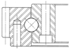 4-point Contact Ball Bearing - Image