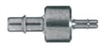 Barbed Fittings; Reducing Connector, 316 SS, 1/4