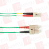 BLACK BOX CORP FOCMPSM-001M-SCLC-GR ( 1M (3.2FT) SCLC GY OS2 SM FIBER PATCH CABLE INDR ZIP OFNP ) - Image