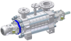 High Pressure Stage Casing Pumps -- MC