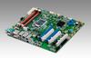 LGA 1150 Intel® Xeon® E3 V3 ATX Server Board with 2 PCIe x16 slots (x8 link) or 1 PCIe x16 slot (x16 link), 3 PCI, USB 3.0, PCIe Gen III, Quad/Dual LANs -- ASMB-784 -Image