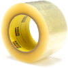 3M Scotch 373 Box Sealing Tape Clear 72 mm x 100 m Roll -- 373 CLEAR 72MM X 100M - Image