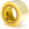 3M Scotch 373 Box Sealing Tape Clear 72 mm x 100 m Roll -- 373 CLEAR 72MM X 100M -Image