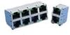 Modular Connectors / Ethernet Connectors -- RJSAE-5086-04 -Image