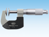 Micromar Micrometer 40 AW with Sliding Spindle and Disc-type Anvils