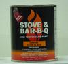 Heat Resistant Coating Stove Bright 1990 Satin Black Brush-on -- 62M290 -Image