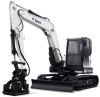 Conventional Tail Swing Compact Excavator -- E85 - Image