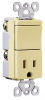 Combination Switch/Receptacle -- TM818-BKCC -- View Larger Image