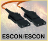 ESCON-ESCON Terminated Fiber Optic Cable - Image
