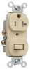 Combination Switch/Receptacle -- 671-TRI -- View Larger Image