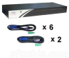 Linkskey 8-port USB/PS2 KVM Switch -- LKV-7308-KIT