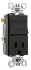 Combination Switch/Receptacle -- TM838-BKCC -- View Larger Image