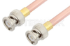 BNC Male to BNC Male Cable 18 Inch Length Using RG401 Coax, RoHS -- PE34170LF-18 -- View Larger Image