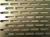 Perforated Metal With Oblong Holes , Oblong Holes -Side Staggered -- 1080