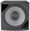 High Power Subwoofer with 1 x 18 Inch 2242H VGC Driver, Black Finish -- ASB6118