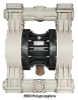 Air Operated Diaphragm Pump -- Model B503 Plastic - Image