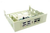 USB to Firewire IEEE 1394 Combo Internal Hub -- FW40-80