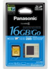 Panasonic 16GB SDHC Memory Card with Class 6 Performance; 20MB per Second -- RP-SDV16GU1K