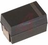 CAPACITOR ALUMINUM ORGANIC SMD,100UF 10V 20% AO-CAP,CUT TAPE -- 70096077