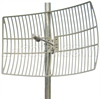 5.8 GHz 27 dBi Die Cast Aluminum Reflector Grid Antenna -- HG5827EG