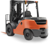 Internal Combustion Forklifts with Pneumatic Tires -- Mid - 8FD - Image