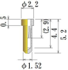 Medium Size Socket Pin -- PDK1561-GG -Image