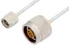 SMA Male to N Male Cable 36 Inch Length Using PE-SR405FL Coax -- PE3657-36 -Image